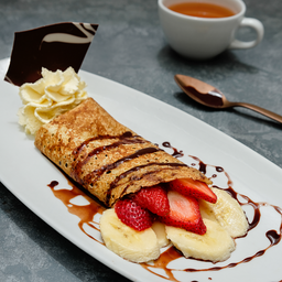 Crepes Nutella® con Plátano Y/o Frutilla