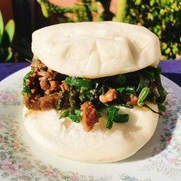 Baos de Carne Mongoliana (2 Uni.)