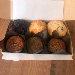 Caja de Muffin Surtidos 6 Unidades