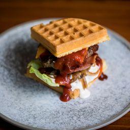 Waffle Burguer Time