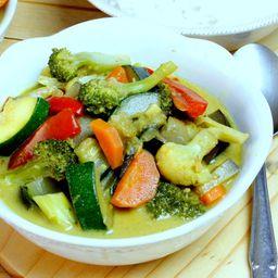 Verdura Al Curry (vegano)