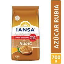 Azúcar Rubia Iansa 700 G