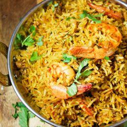 Basmati Shrimp Biryani