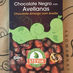 Stevia Negro 125grs, Sin Gluten, Sin Azúcar, Vegano