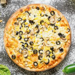 Pizza Vegetariana Vegana Familiar