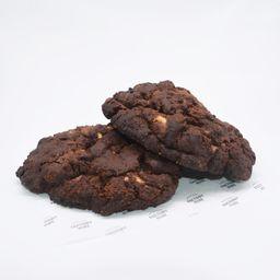 Cookie triple chocolate