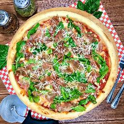 Pizza Rúcula y Jamón Serrano Familiar (38cm)