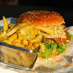 Combo Hamburguesa Veggie