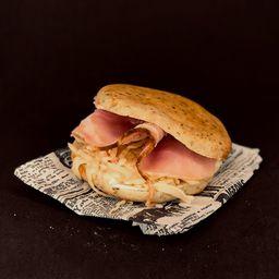 Sándwich Mozzarella & Jamón