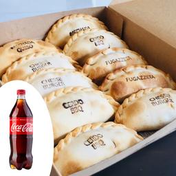 Pack 5 - 12 Empanadas + Bebida 1,5 Lt.