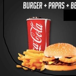 Combo House Burger