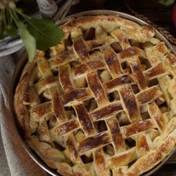 Trozo Kuchen de Manzana