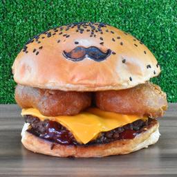 Lunch Cebolla Rings Burger
