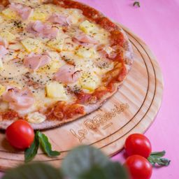 Pizza Hawaiana Familiar