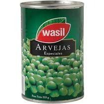 Arvejas Wasil Tarro 300 Grs