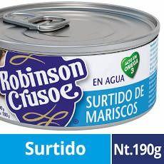 Surtido de Mariscos Robinson Crusoe