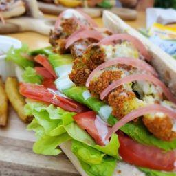 Sandwich Medio Oriente Vegetariano