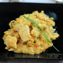 Risotto de Pollo Al Curry