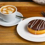 Café Capuccino + Donuts