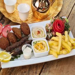 Combo 3 Kafta y Falafel