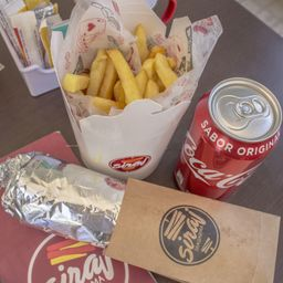 Combo Shawarma Kafta Bebida y Agregado