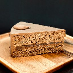 Torta de Trufa Chocolate y Frambuesa, Porción Personal
