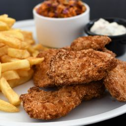 Chicken Tender Fries