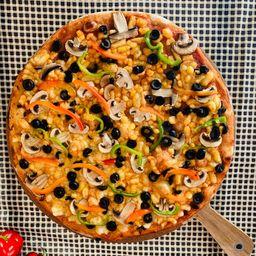 Pizza Champiñón Vegana