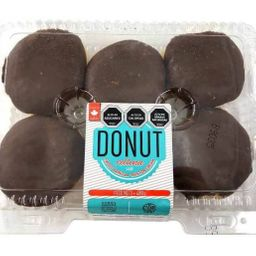 6x Donut Rellena Boston
