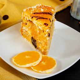 Torta Panqueque de Naranja Vainilla