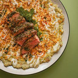 Babaganush y Shish Kebab