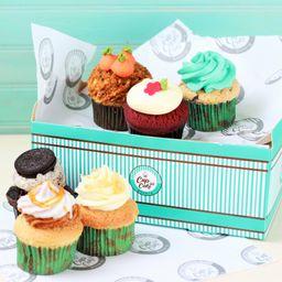 Box Variado 6 Cupcakes