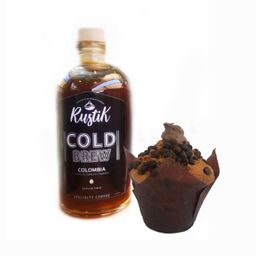 Cold Brew y Muffin