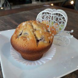 Muffin Chessecake Arándanos