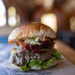 The Bacon Old Cheese Burger
