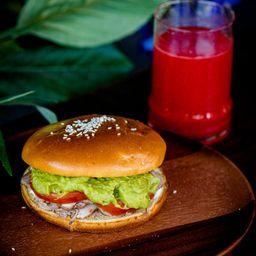 Sandwich Mechada Mayonesa.