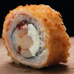 Sake tempura panko