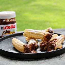 Churros Rellenos con Nutella 6 Unidades