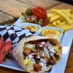 Combo 1 Shawarma Arabish