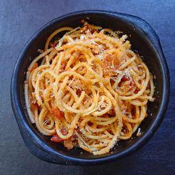 Spaghetti con Boloñesa