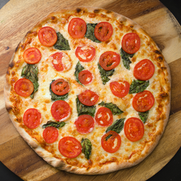 Pizza Margarita Ajo Vegana Individual
