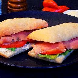 Mi Sándwich Salmón Ahumado