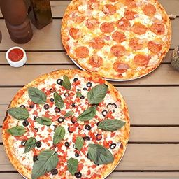 2 Pizzas Atrevidas Medianas