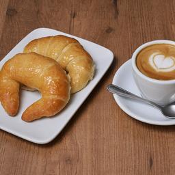 Café o Té con 2 Medialunas
