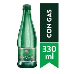Agua Mineral con Gas Porvenir 330 ml