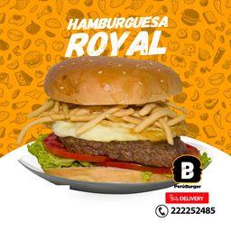 Hamburguesa Royal