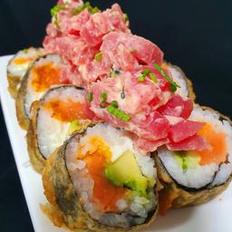 Sake Tuna Furai Roll