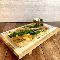 Pizza Funghi Espinaca