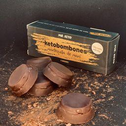 Ketobombones de Mantequilla de Mani