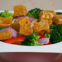 Tofu primavera